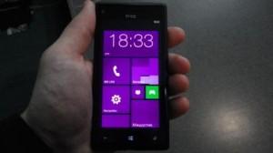 внешний вид HTC Windows Phone 8x