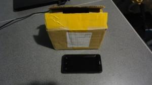 посылка из китайского магазина электроники с китайским смартфоном GiaYu G3