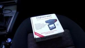 Highscreen Black Box Radar Plus антирадар с видеорегистратором