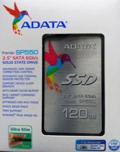 Жесткий диск ADATA Premier SP550