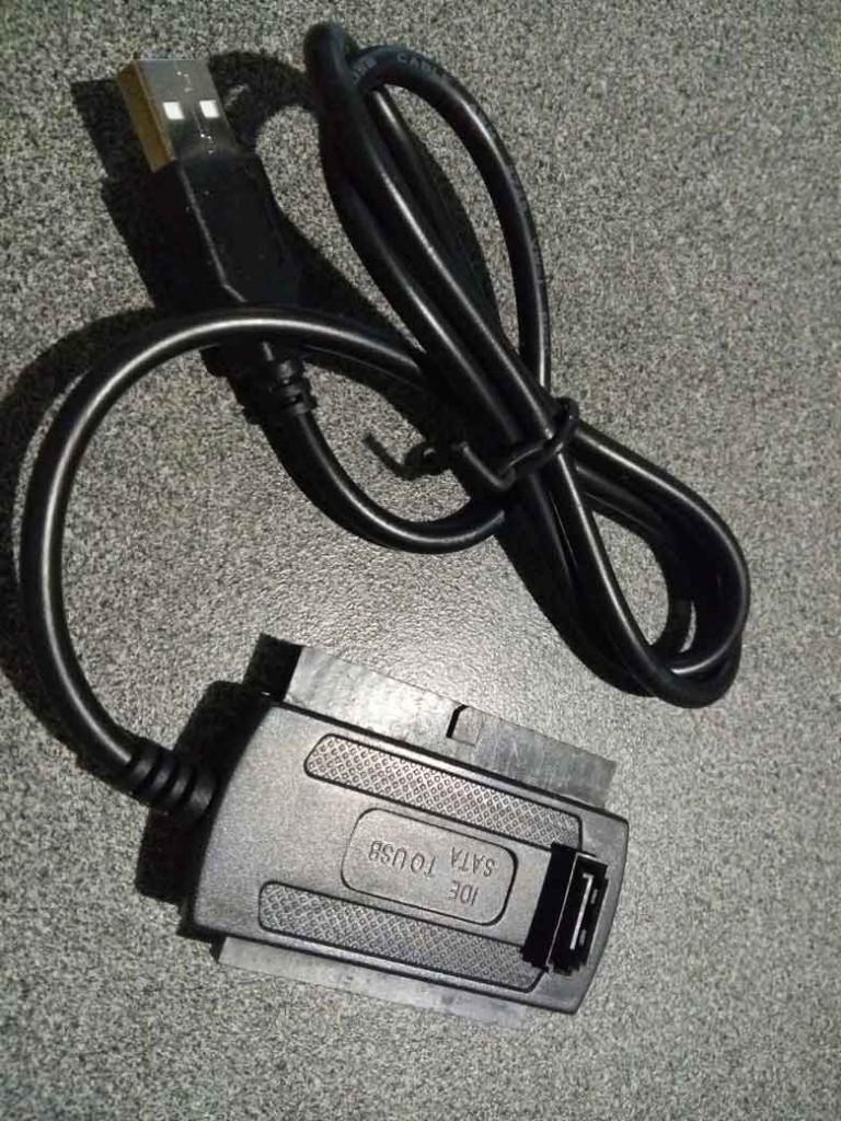 контроллер для соединения устройств SATA и IDE с USB